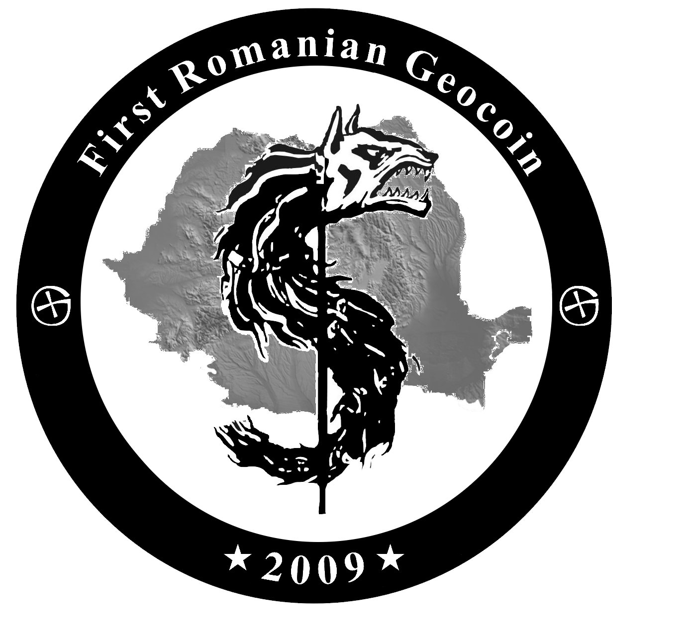first romanian geocoin side 2